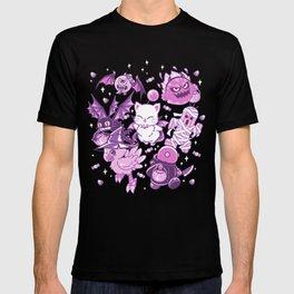 Final Fantasy Moogle Chocobo Tonberry Cactuar Bomb BatEye Gimme Cat Trick or treat T-shirt