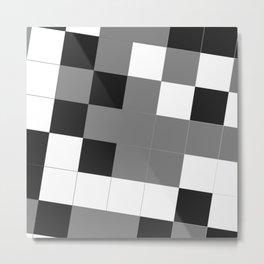 Is it a crossword or art? Metal Print