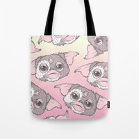 gizmo Tote Bags featuring Gizmo by lOll3
