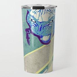 Laser Cat Travel Mug