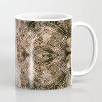antique Mugs featuring Antique Lace by Klara Acel