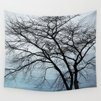 naked Wall Tapestries featuring naked tree by RasaOm