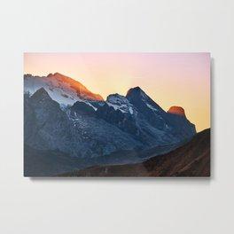 Italian mountains #society6 #decor #buyart Metal Print