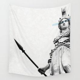 Athena the goddess of wisdom Wall Tapestry