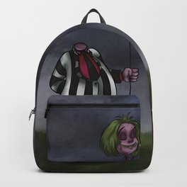Beetle Juice and Lydia Backpack