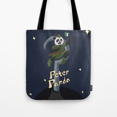 Peter Panda Tote Bag