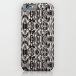 Pattern / black background  iPhone Case