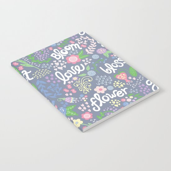 How Does Your Garden Grow Notebook
