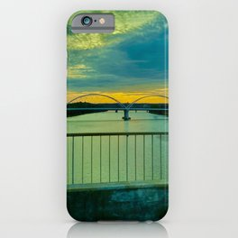 One Bridge to Another iPhone Case