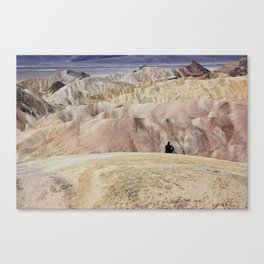 Zabriskie Point Canvas Print