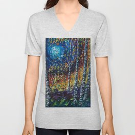 Moonlight Sonata Unisex V-Neck