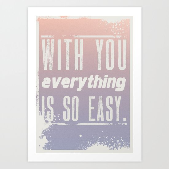 Everything Art Print
