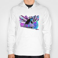 orca Hoodies featuring Orca by JT Digital Art
