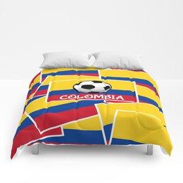 Colombia Football Comforters