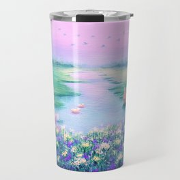 Pools of Blessing After Rain Travel Mug
