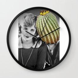 Mess Around Cactus Wall Clock
