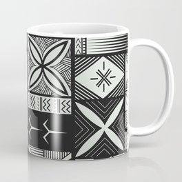 UrbanNesian Grey Siapo and Tatau Coffee Mug