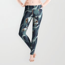 Forest Cabins Leggings