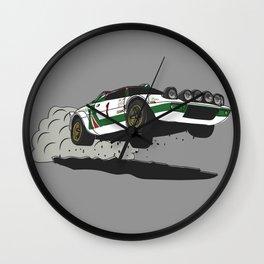 Stratos Rallycar Wall Clock