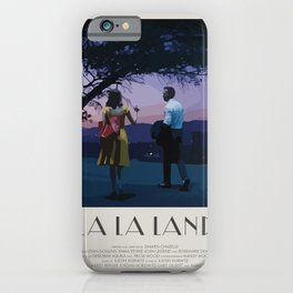 La La Land (2016) Minimalist Poster iPhone Case