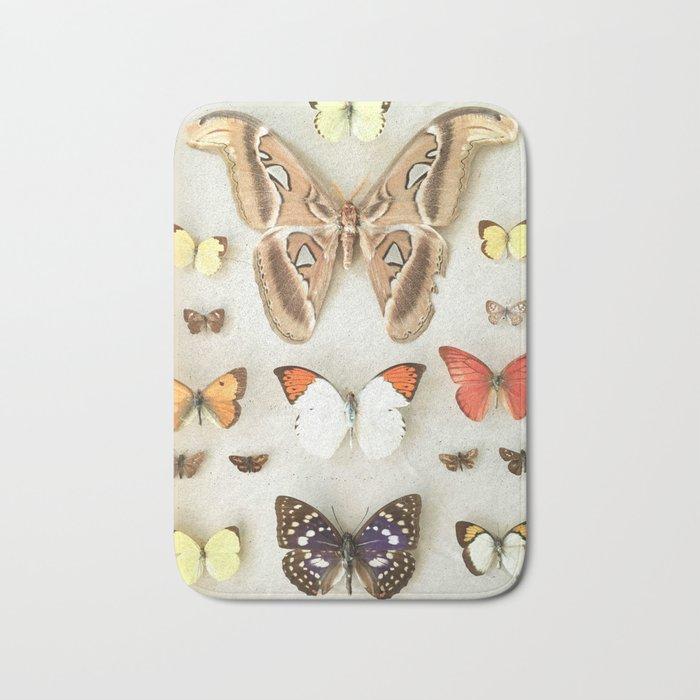Butterflies and Moths Bath Mat