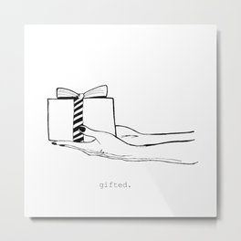 Gifted II Metal Print