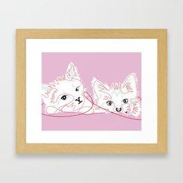 kittens 02 Framed Art Print