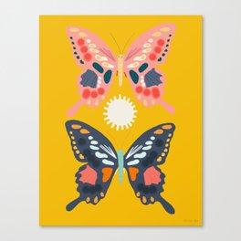 Butterflies Children's Poster Canvas Print
