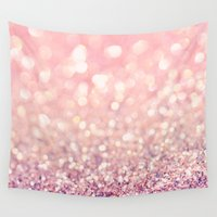 blush Wall Tapestries featuring Blush by Lisa Argyropoulos