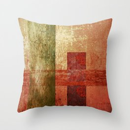 Converge, Abstract Grunge Art Throw Pillow