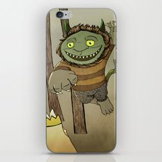 Wild Thing Jumping iPhone & iPod Skin