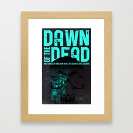 Dead by Dawn Framed Art Print