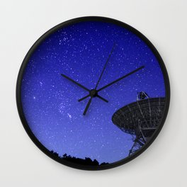 Watching the Sky Wall Clock