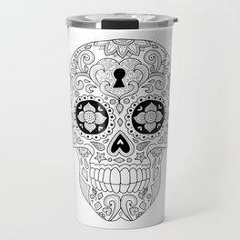 Candy Skull 3 Travel Mug