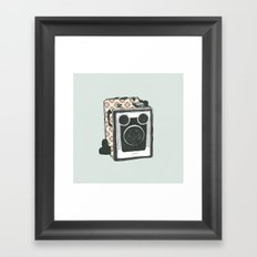 Floral Camera 2 Framed Art Print