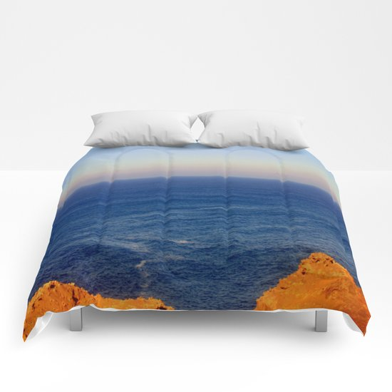 Beyond the blue Horizon Comforters