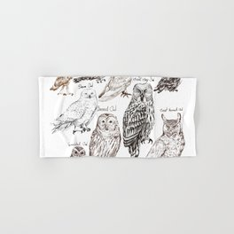 owls Hand & Bath Towel
