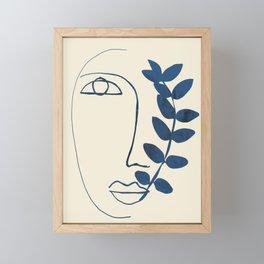 Abstract Face 5 Framed Mini Art Print