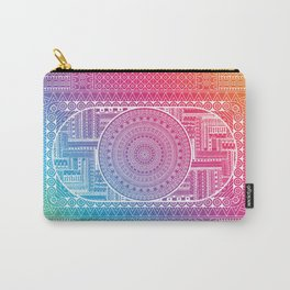 Tribal - Angles Carry-All Pouch
