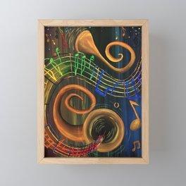 The ART of Music Framed Mini Art Print