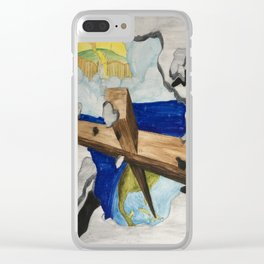 Break Out Clear iPhone Case