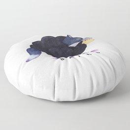 Baaad Baaad Black Sheep Floor Pillow