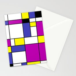 Neoplasticism Stationery Cards