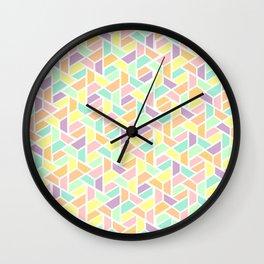 Geometric Jigsaw Wall Clock