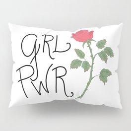 GRL PWR Pillow Sham