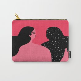 What Is Not Seen Carry-All Pouch