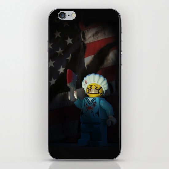 American Psycho in LEGO iPhone & iPod Skin