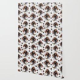 Floral background Wallpaper