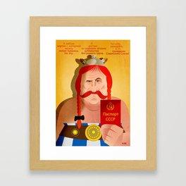 Obelix Framed Art Print