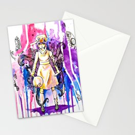 I'm stronger than my fears.  Stationery Cards